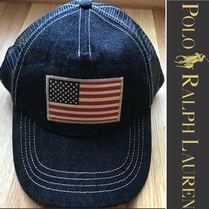 Polo Ralph Lauren American Flag  SnapBack Hat